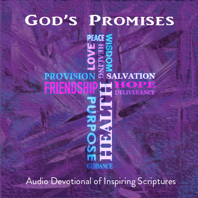 God's Promises, Audio Devotional, Scripture Devotional, Christian Devotional, Scripture memorization devotional, scriptures about health, scriptures about healing, scriptures about finances, scriptures about provision, scriptures about protection
