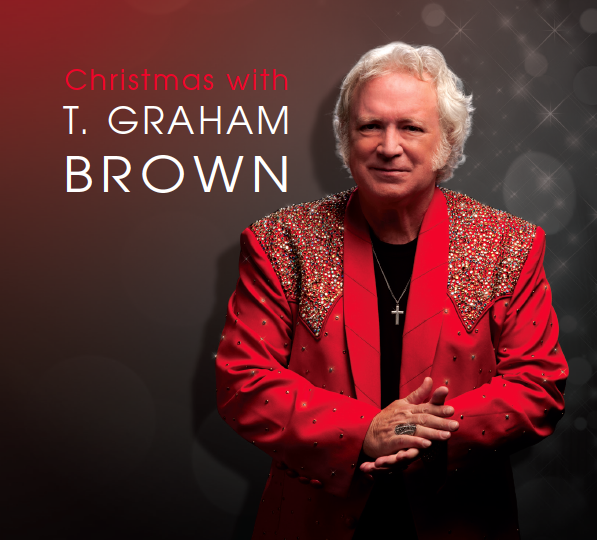 SPEND 'CHRISTMAS WITH T. GRAHAM BROWN' THIS HOLIDAY SEASON WITH BRAND NEW ALBUM