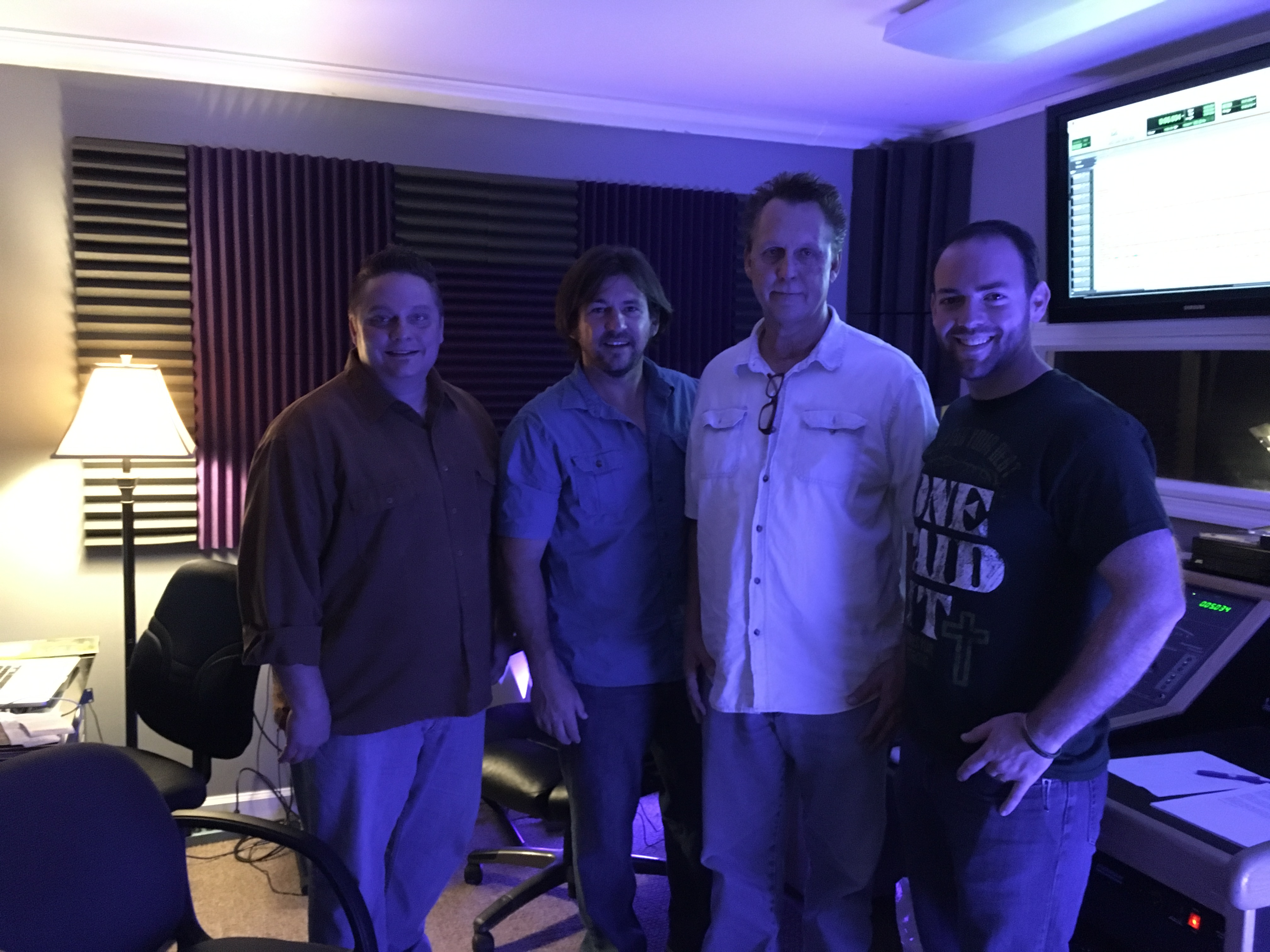 IN THE STUDIO: Steve Hess & Southern Salvation