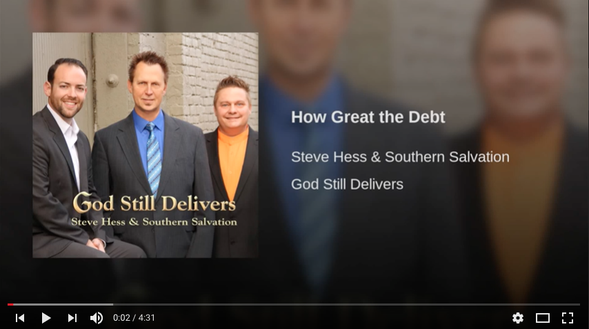 How Great The Debt, Southern Gospel Radio, Southern Gospel Song, Dianne Wilkinson, Rebecca Peck, Singing News Chart, Singing News Radio, Singing News Top 80