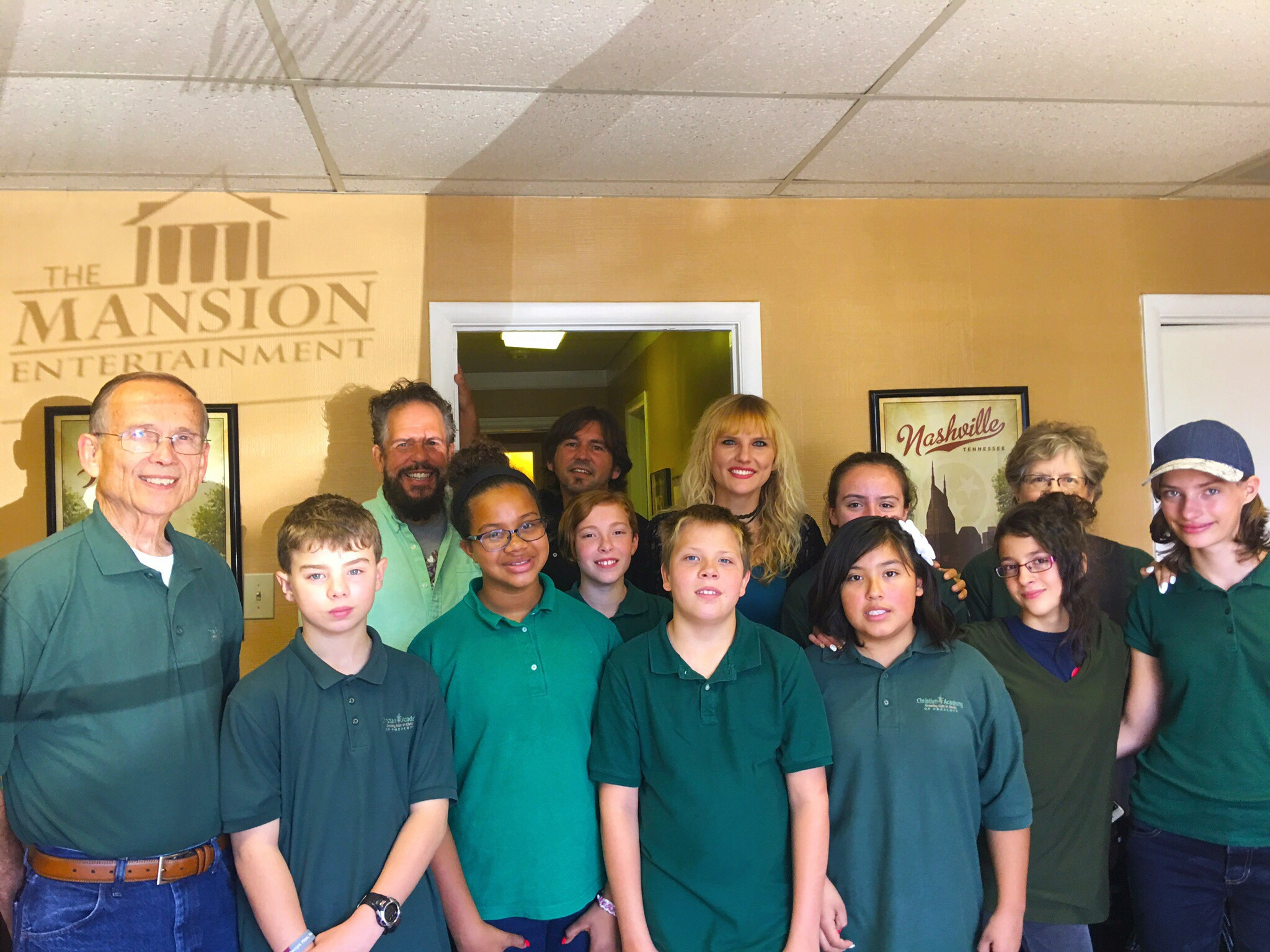 Children's Academy of Prescott Youth Choir Visits Mansion Entertainment