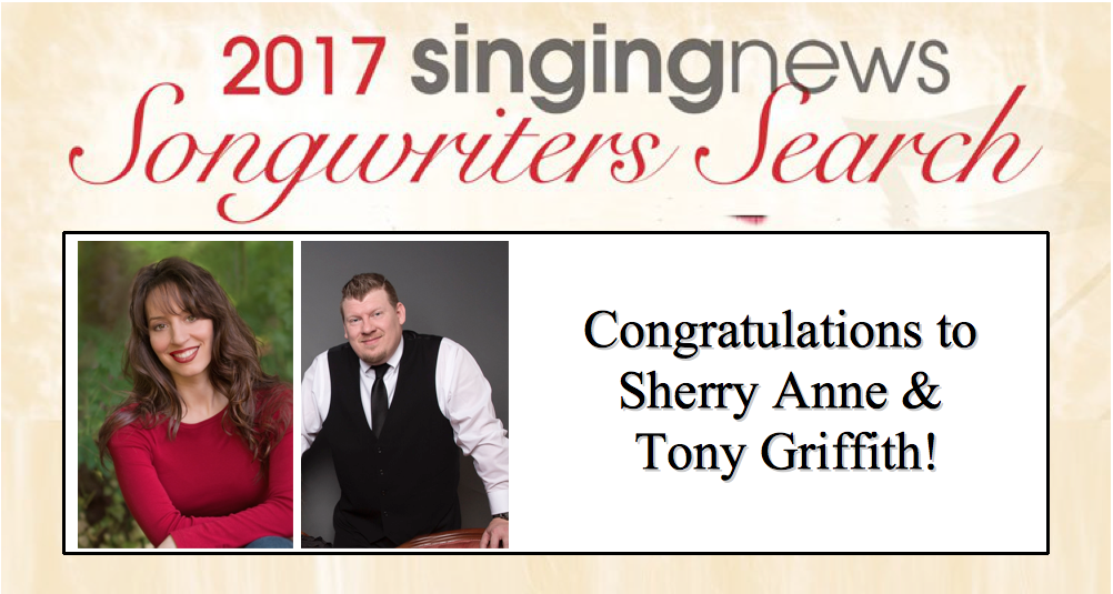 Congratulations to Sherry Anne and Tony Griffith