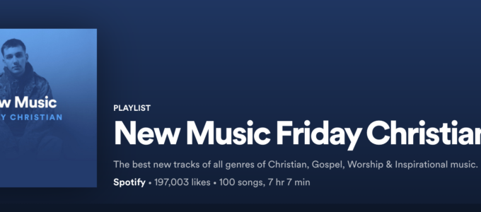 New Music Friday Christian, Spotify Playlist, Christian Country