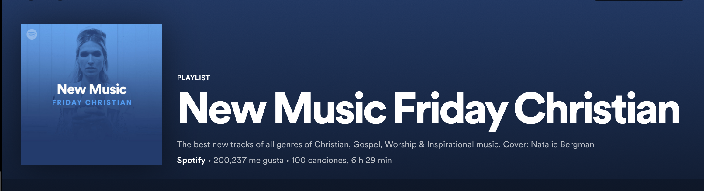 Tonja Rose's New Music Featured on 'New Music Friday Christian' (Spotify playlist)