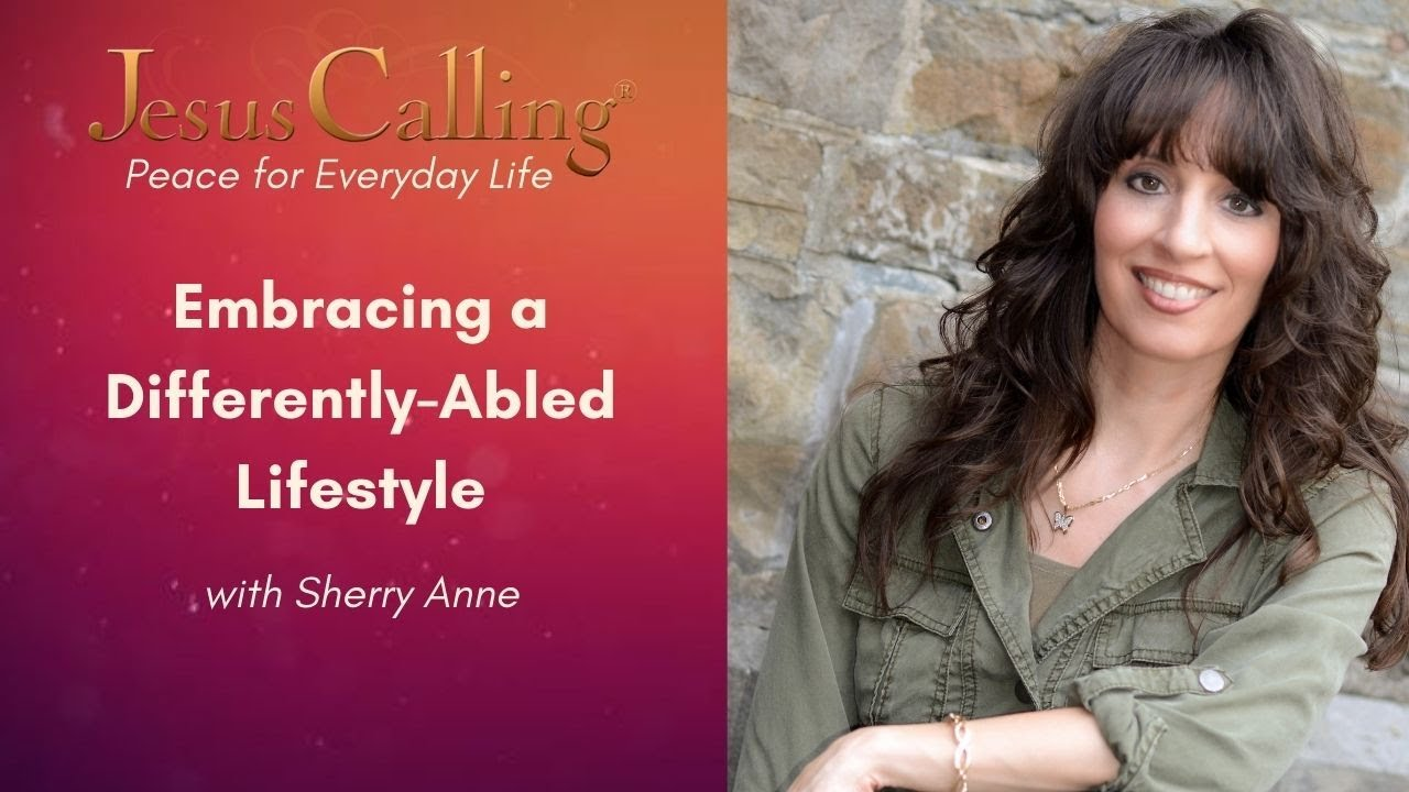 Sherry Anne Featured In The 'Jesus Calling Peace For Every Day Life' Series