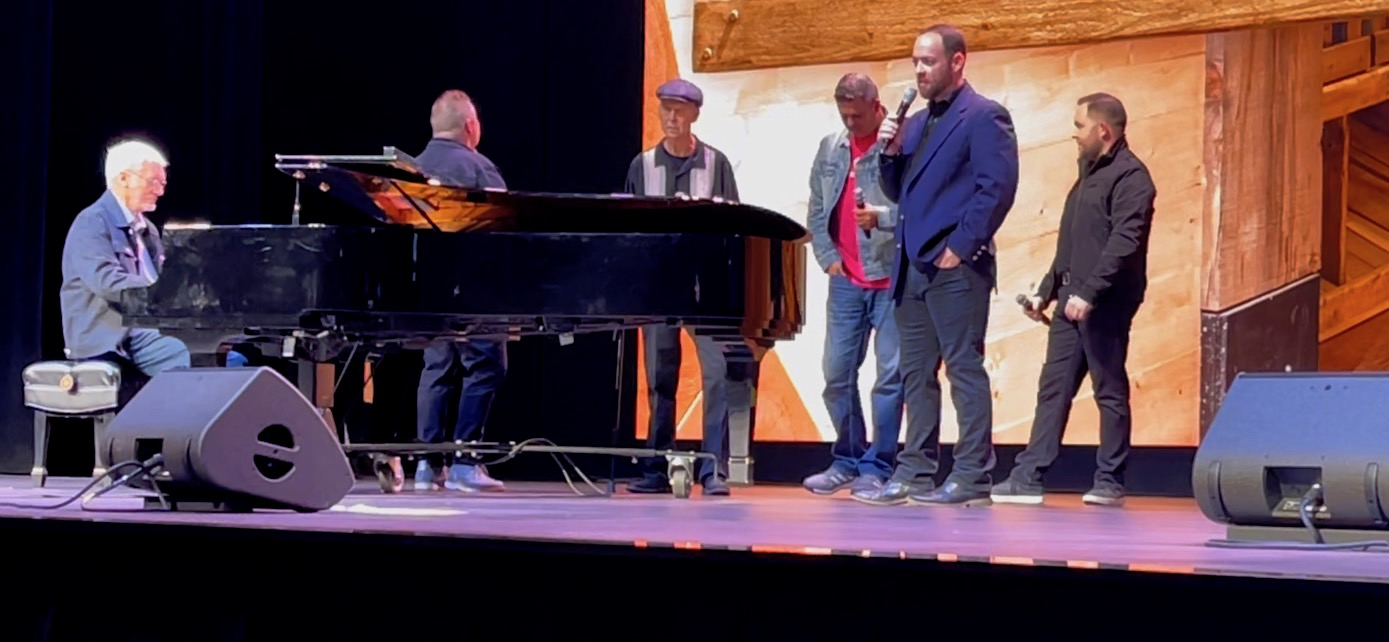 Steve Hess Returns To Perform At The Ark Encounter After Suffering Major Stroke